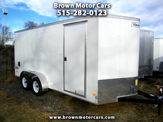 2017 Haulmark Passport 7x16 V-Nose 6in Extra Height Enclosed Trailer