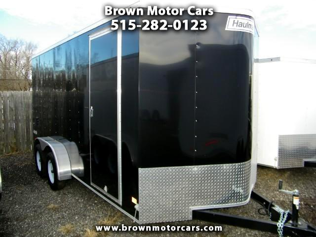2017 Haulmark Passport 7x16 V-Nose 12in Extra Height Enclosed Trailer