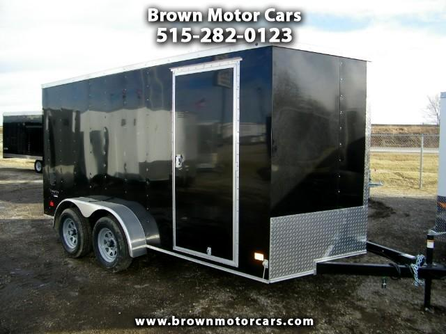 2017 Haulmark Enclosed Trailer Thrifty Hauler 7x14 Enclosed 6in Extra Height