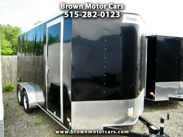 2017 Haulmark Passport 7x16 V-Nose Enclosed Trailer with 12in Extra Heigh