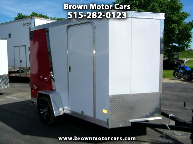 2017 Wells Cargo Trailer WCVG 6x10 V-Nose Enclosed Trailer Cargo Trailer