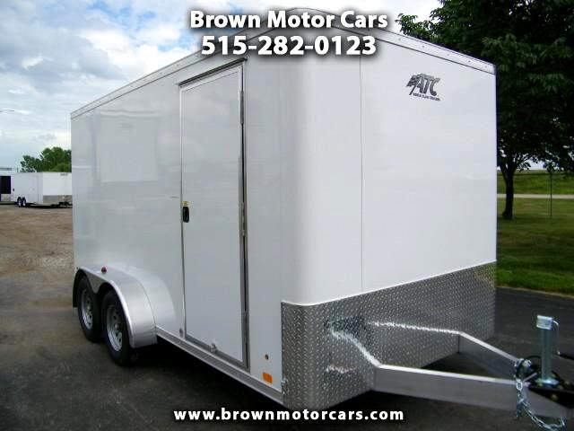 2018 ATC Raven 7x14 Aluminum Enclosed Trailer