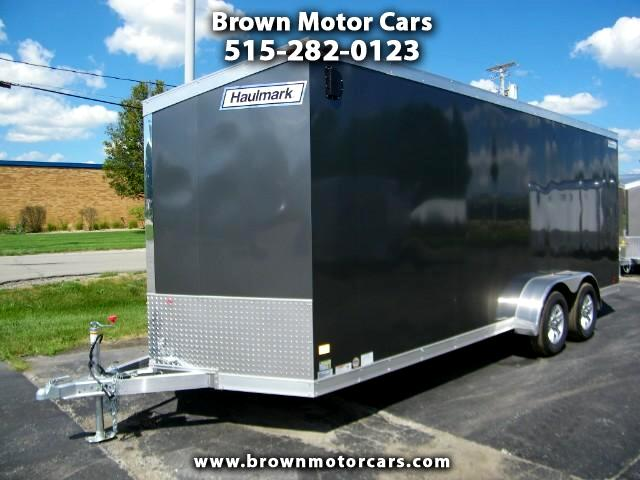 2017 Haulmark Enclosed Trailer HAUV 7x20 V-Nose Enclosed Aluminum Trailer
