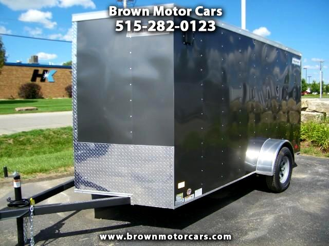 2017 Haulmark Enclosed Trailer HMVG 6x12 V-Nose Enclosed Trailer