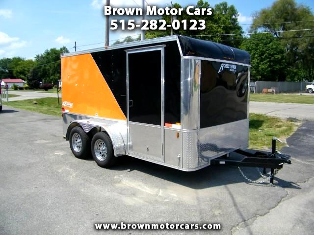 2017 Homesteader 712PT 7x12 Tandem Axle Motorcycle Trailer