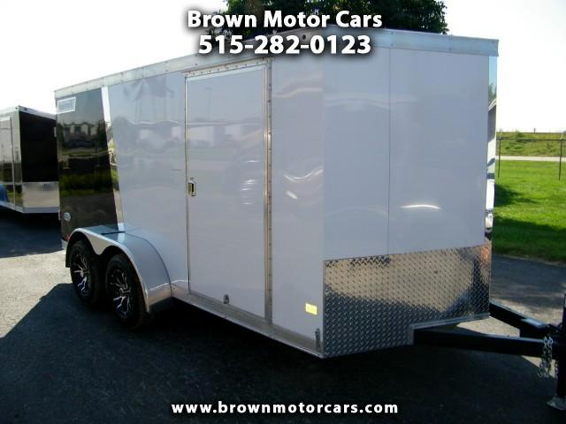 2018 Haulmark Enclosed Trailer HMVG 7x14 V-Nose Enclosed Trailer Cargo Trailer