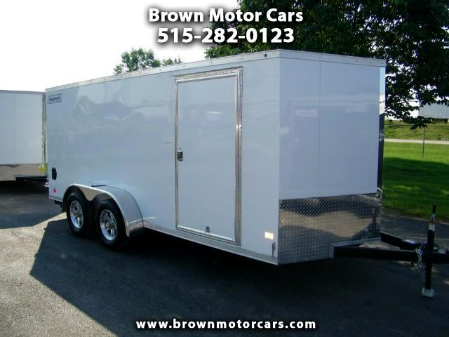 2018 Haulmark Enclosed Trailer HMVG 7x16 V-Nose Enclosed Trailer 5000 Series