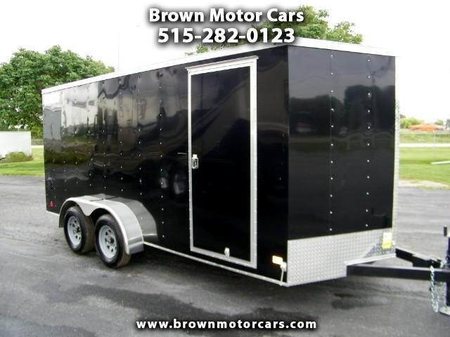 2018 Haulmark Enclosed Trailer HMVG 7x16 V-Nose Enclosed Trailer 3000 Series