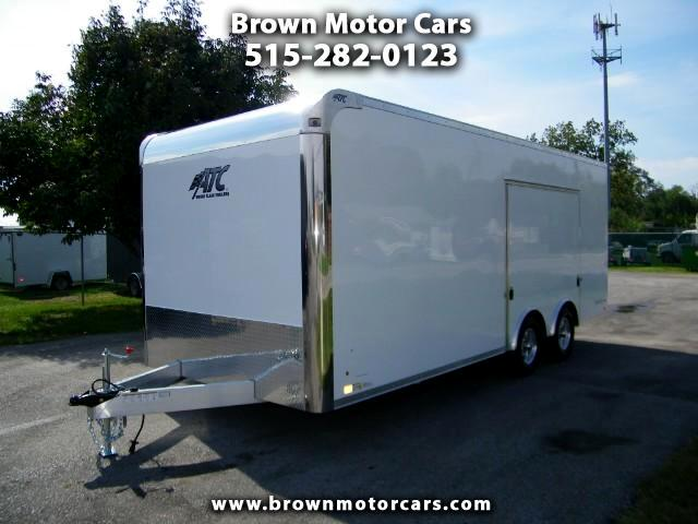 2018 ATC Raven 8.5x20 Aluminum Enclosed Car Hauler