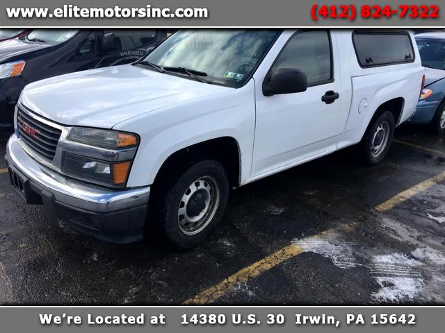 2011 GMC Canyon Work Truck 2WD