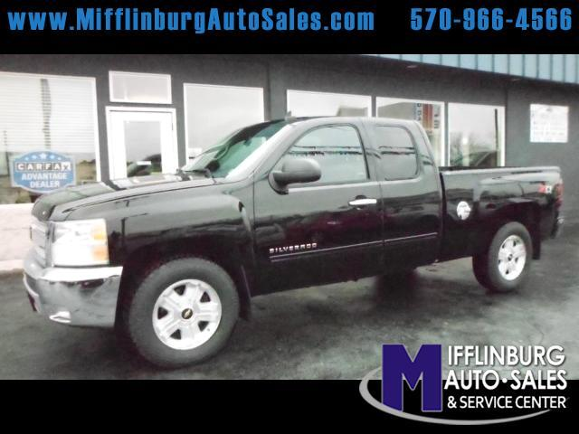 2012 Chevrolet Silverado 1500 Z71 Ext. Cab Short Bed 4WD