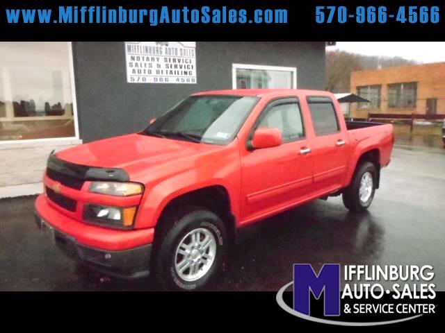 2012 Chevrolet Colorado 1LT Crew Cab 4WD