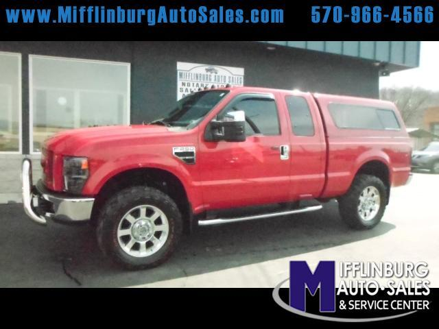 2008 Ford F-250 SD XLT SuperCab Short Bed 4WD