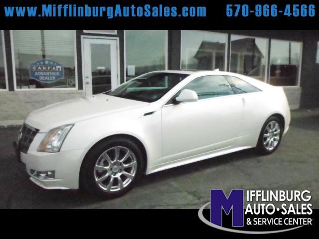 2011 Cadillac CTS Performance Coupe AWD
