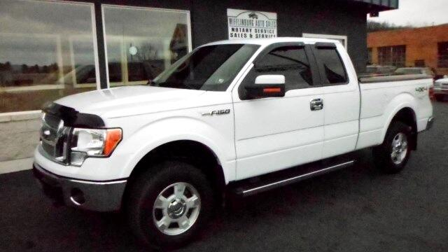 2012 Ford F-150 Lariat SuperCab 6.5-ft. Bed 4WD