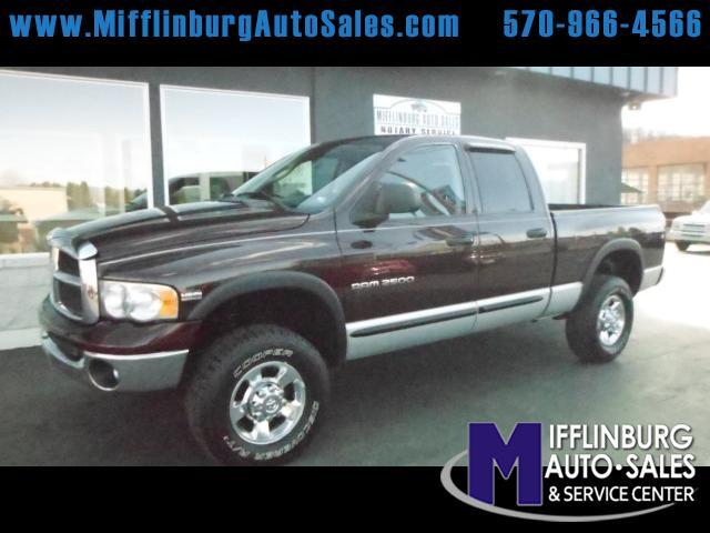 2005 Dodge Ram 2500 SLT Quad Cab Short Bed 4WD