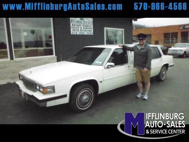 1985 Cadillac DeVille Sedan