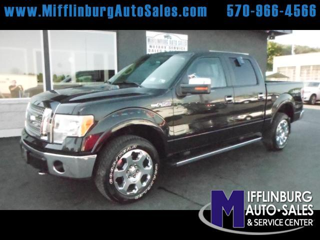 2010 Ford F-150 Lariat 4WD SuperCrew 5.5' Box