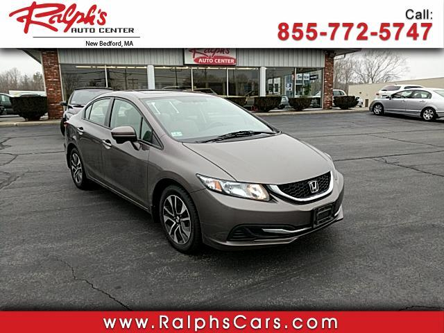 2014 Honda Civic EX Sedan with Front Side Airbags