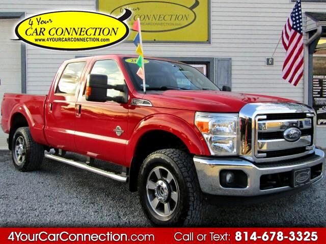 2011 Ford F-350 SD XLT Power Stroke Crew Cab 4WD TURBO DIESEL