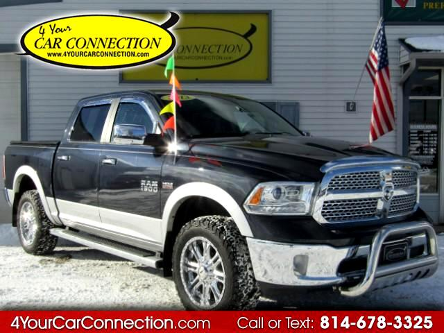 2013 RAM 1500 Laramie Crew Cab Air Suspension NAV ROOF