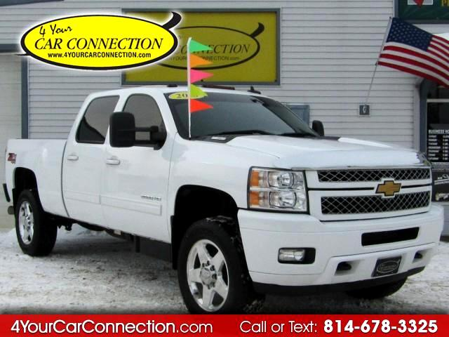 2013 Chevrolet Silverado 2500HD LTZ Crew Cab 4WD TV-DVD-ROOF TURBO DIESEL