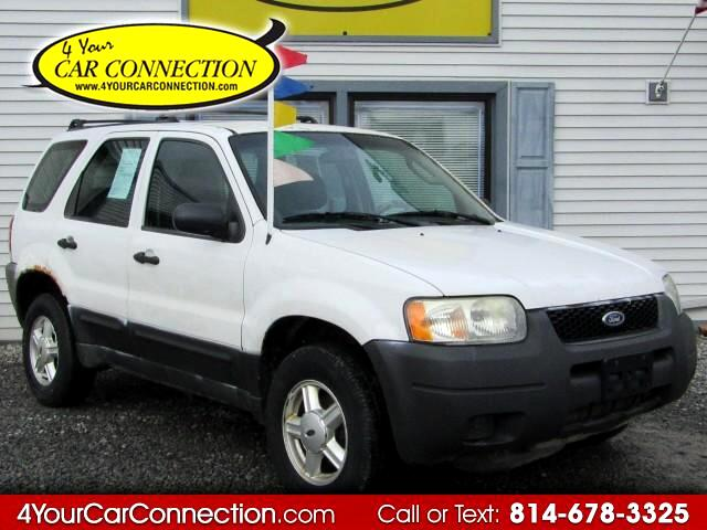 2003 Ford Escape XLS 4WD
