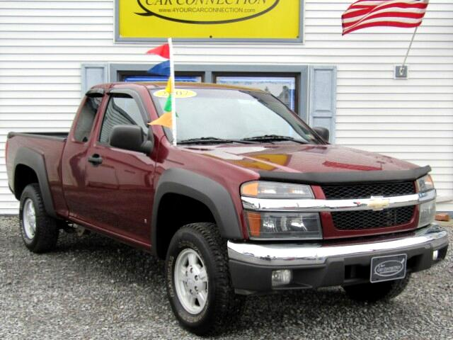 used 2007 chevrolet colorado lt ext cab 4wd for sale in. Black Bedroom Furniture Sets. Home Design Ideas