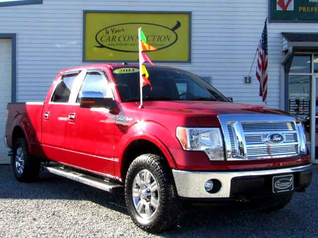 2011 Ford F-150 Lariat SuperCrew 4WD NAV
