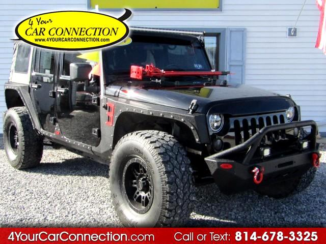 2014 Jeep Wrangler Unlimited Sport Custom 4WD