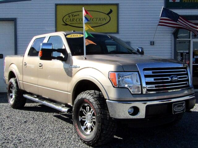 2013 Ford F-150 Lariat SuperCrew 4WD LIFTED