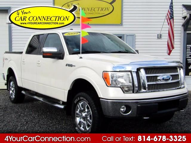 2009 Ford F-150 Lariat SuperCrew 4WD NAV