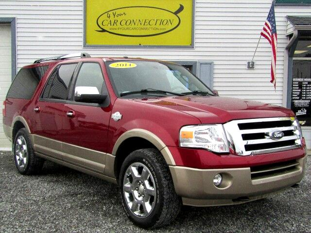 2014 Ford Expedition EL XLT King Ranch 4WD 7 Passenger NAV