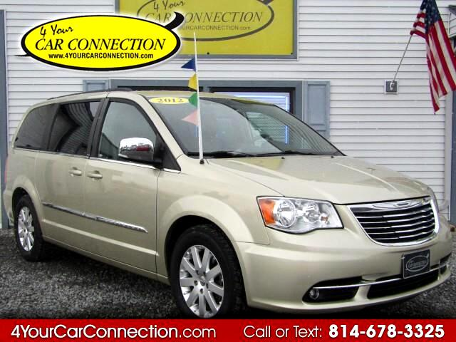 2012 Chrysler Town & Country Touring L 7 Passenger TV-DVD