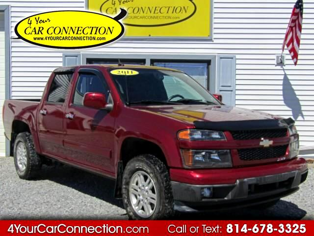 2011 Chevrolet Colorado LT Crew Cab 4WD