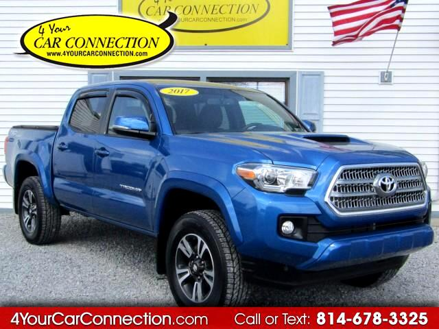 2017 Toyota Tacoma TRD SPORT Double Cab 4WD NAV