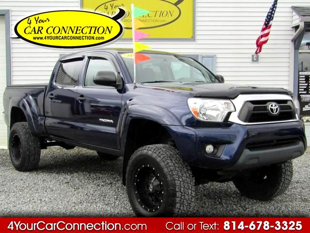 2012 Toyota Tacoma SR5 Double Cab 4WD LIFTED