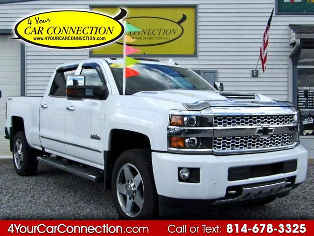 2017 Chevrolet Silverado 2500HD High Country Crew Cab 4WD TURBO DIESEL TV-DVD-NAV