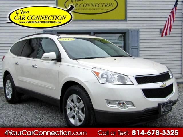 2011 Chevrolet Traverse LT AWD 7 Passenger TV-DVD