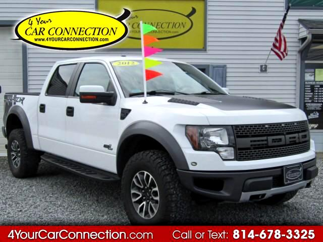 2012 Ford F-150 SVT Raptor SuperCrew 4WD NAV