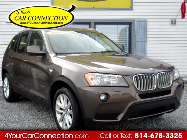 2014 BMW X3 XDrive28i AWD NAV