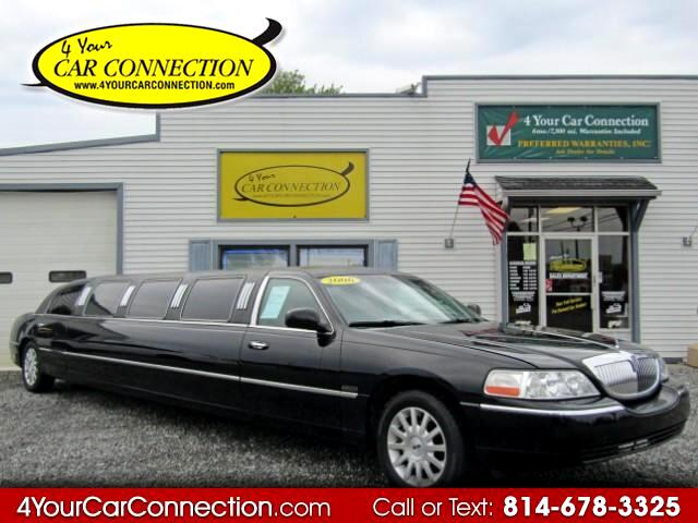 2006 Lincoln Town Car Signature TV-DVD
