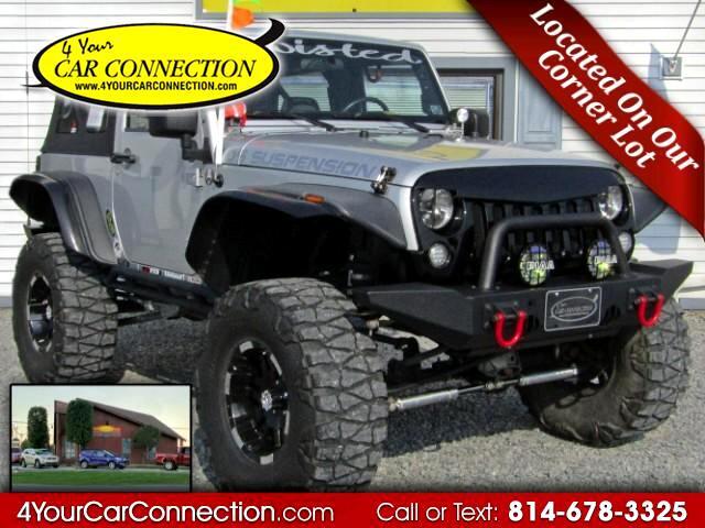 2009 Jeep Wrangler X LIFTED CUSTOM 4WD TV-DVD-NAV
