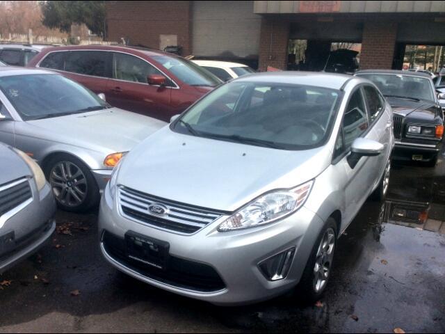 2012 Ford Fiesta SEL Sedan