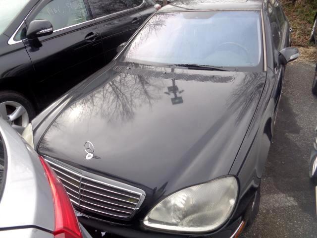 2001 Mercedes-Benz S-Class S600