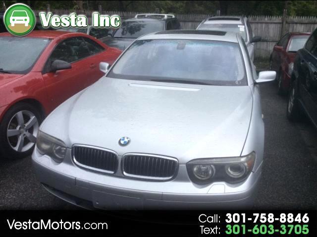 2004 BMW 7-Series 745i