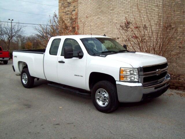 2009 Chevrolet Silverado 2500HD Work Truck Ext. Cab Long Box 4WD