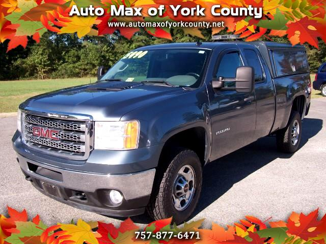 2012 GMC Sierra 2500HD Work Truck Ext. Cab Long Bed 4WD