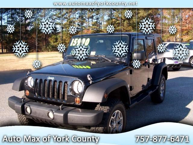 2009 Jeep Wrangler 4WD 4dr Unlimited X