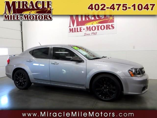 2014 Dodge Avenger SE Black Top Edition